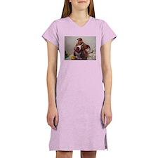 Cute Apbt Women's Nightshirt