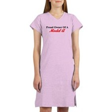 Proud of My Model A Women's Nightshirt