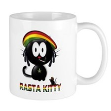 rasta kitty Mug