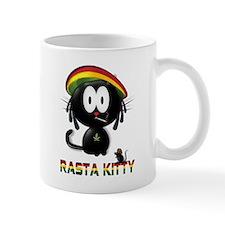 rasta kitty Small Mug