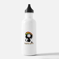 rasta kitty Water Bottle