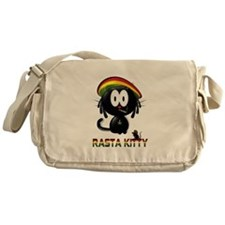rasta kitty Messenger Bag