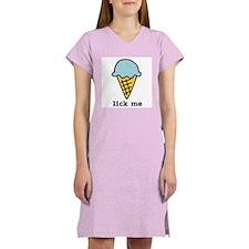 Lick Me Women's Pink Nightshirt