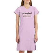 Hair loss Women's Nightshirt