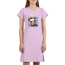 Red Heeler Do you Herd? Women's Nightshirt