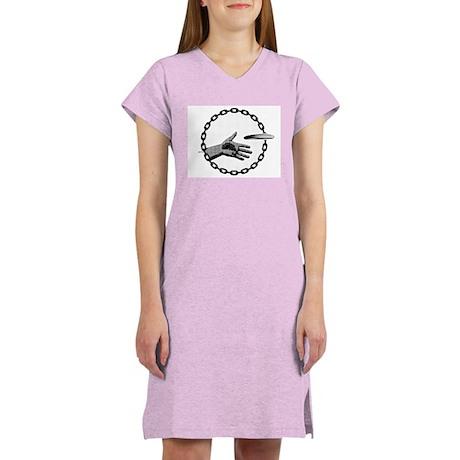 Putter Hand Women's Nightshirt
