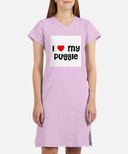 I * my Puggle Women's Nightshirt