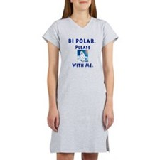 Bipolar Bear Women's Nightshirt