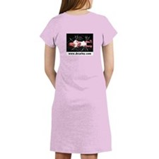 VC red text - Women's Nightshirt