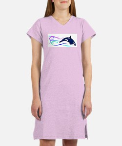 Orca Sparkle Women's Nightshirt