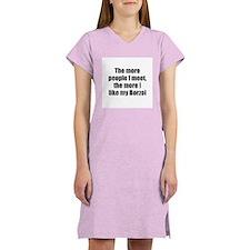 Borzoi Women's Nightshirt