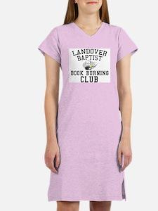 Book Burning 101 Women's Pink Nightshirt