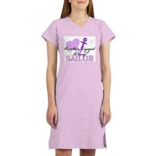 Hapily Engaged to my Sailor Women's Nightshirt