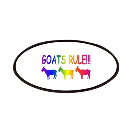 Goats Rule Patches