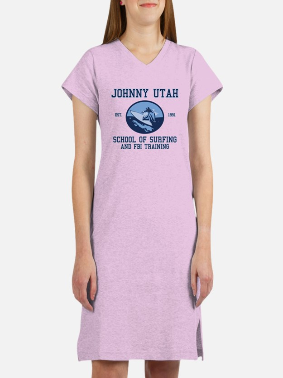 johnny utah surfing school Women's Nightshirt