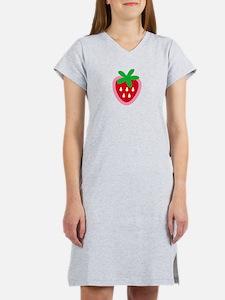 Strawberry Solitaire Women's Nightshirt