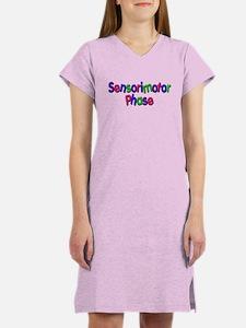 Sensorimotor Phase (bright) Women's Nightshirt