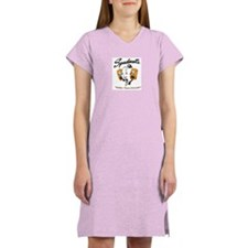 Cute Spudnutsshow Women's Nightshirt