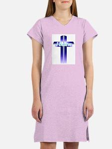 I Believe Cross Women's Nightshirt