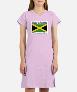 Jamaican Parts Women's Nightshirt