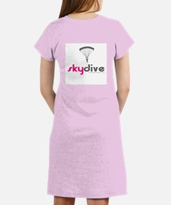Pink Skydive Women's Nightshirt