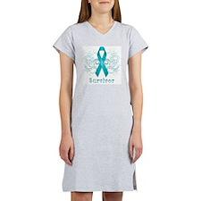 Ovarian Cancer Survivor Women's Nightshirt