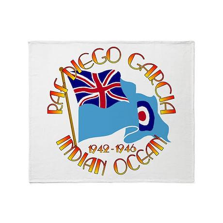 RAF Diego Garcia Throw Blanket