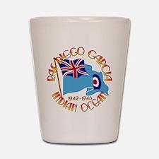 RAF Diego Garcia Shot Glass