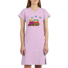 Cute Choo choo Women's Nightshirt