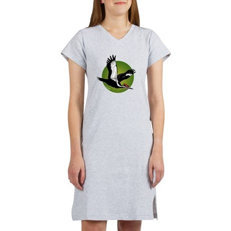 Pileated Woodpecker Women's Nightshirt