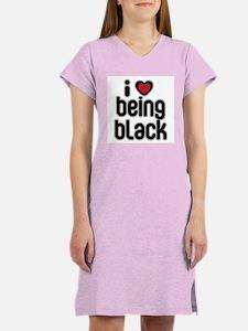 I Love Being Black Women's Nightshirt
