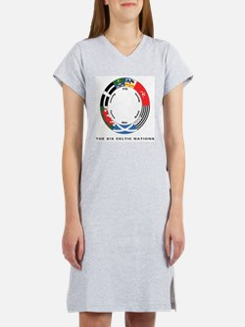 Celtic Nations Women's Nightshirt