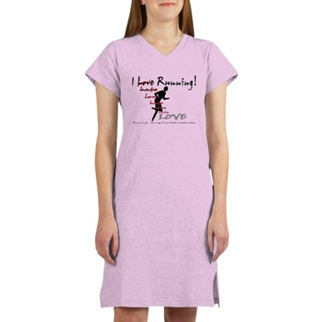 love/hate relationship Women's Nightshirt