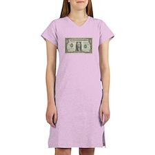 Dollar Bill Women's Nightshirt