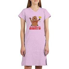 Cartoon Groundhog Women's Nightshirt