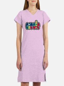 Cool Multiracial Women's Nightshirt