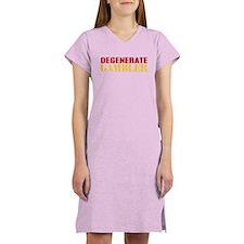 Degenerate Gambler Women's Nightshirt