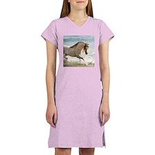 Cute Horses Women's Nightshirt
