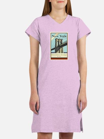 Travel New York Women's Nightshirt