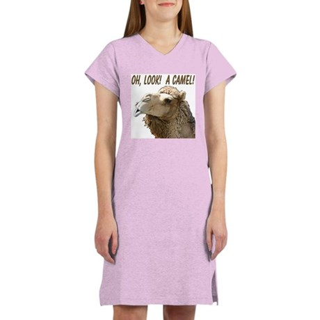 """""""I See Camels!"""" Women's Nightshirt"""