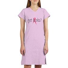 got boobs? Breast Cancer Awareness Women's Light T