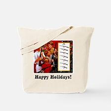 Gun Show Holiday Tote Bag