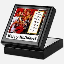 Gun Show Holiday Keepsake Box