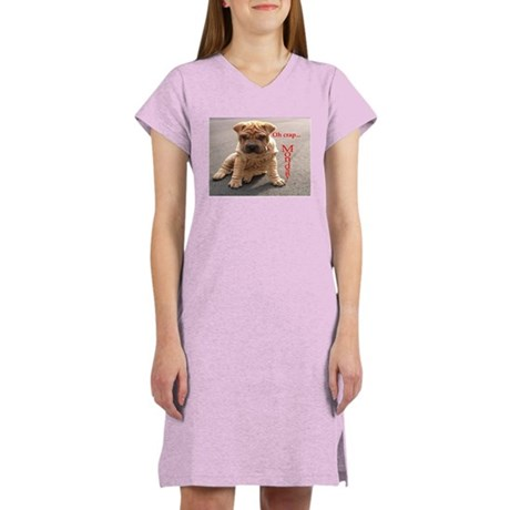 crappymondaypei Women's Nightshirt