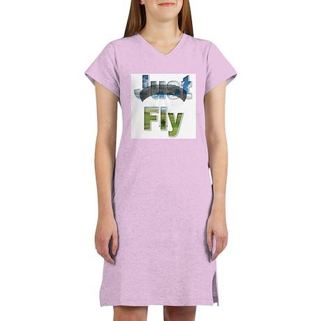 Just Fly Powered Parachute Women's Nightshirt