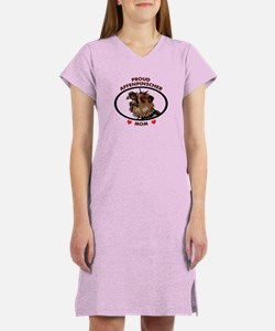 affenpinscher mom Women's Nightshirt