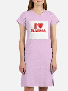 I Love Karma Women's Nightshirt