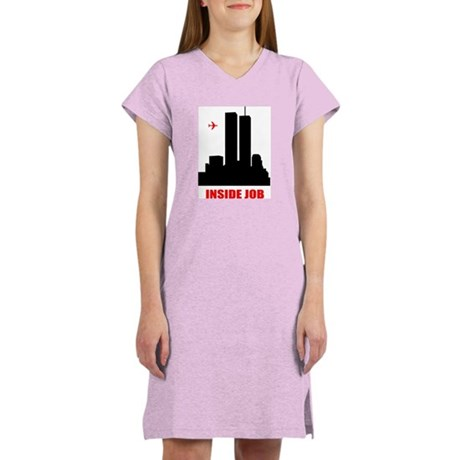 9/11 Inside Job Women's Nightshirt