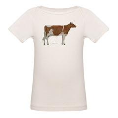 Golden Guernsey cow Tee