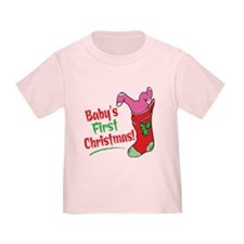 BABY'S FIRST CHRISTMAS (GIRL) T